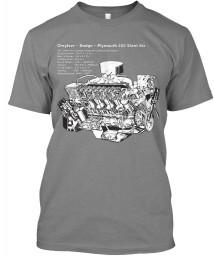 225 Slant-6 Cutaway and Specs Premium Heather Next Level Tri-Blend Tee $25.99