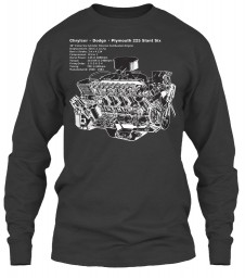 225 Slant Six Cutaway Dark Heather Gildan 6.1oz Long Sleeve Tee $25.99