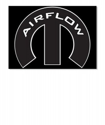 Airflow Mopar M Sticker