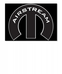 Airstream Mopar M Sticker