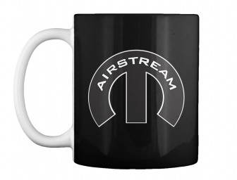 Airstream Mopar M Black Teespring Mug $14.99