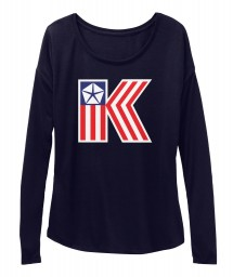 American Chrysler K-Car  BELLA+CANVAS Women's  Flowy Long Sleeve Tee