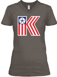 American Chrysler K-Car  BELLA+CANVAS Women's V-Neck Tee