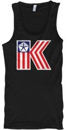 American Chrysler K-Car  Black Gildan Unisex Tank $21.99