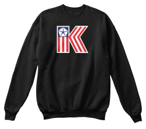 American Chrysler K-Car  Black Hanes Unisex Crewneck Sweatshirt $33.99