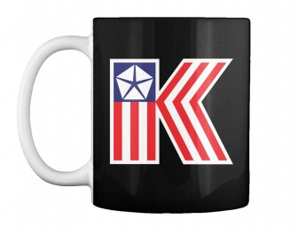 American Chrysler K-Car  Black Teespring Mug $14.99