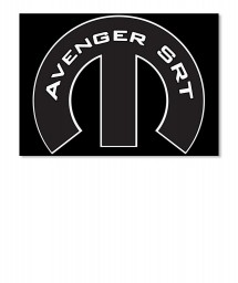 Avenger SRT Mopar M Sticker