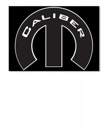 Caliber Mopar M Landscape Sticker $6.00
