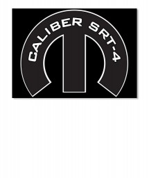 Caliber SRT-4 Mopar M Sticker