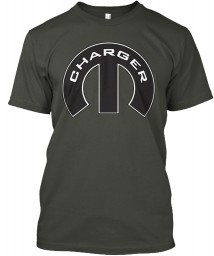 Charger Mopar M Hanes Tagless Tee