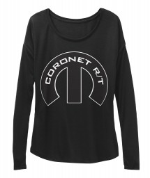 Coronet R/T Mopar M BELLA+CANVAS Women's  Flowy Long Sleeve Tee