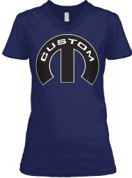 Custom Mopar M BELLA+CANVAS Women's V-Neck Tee