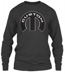 Custom Mopar M Gildan 6.1oz Long Sleeve Tee