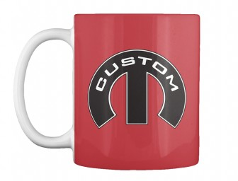 Custom Mopar M Bright Red Teespring Mug $14.99
