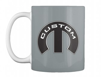 Custom Mopar M Md Grey Teespring Mug $14.99