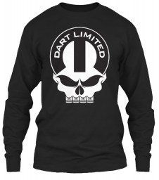 Dart Limited Mopar Skull Black Gildan 6.1oz Long Sleeve Tee $25.99