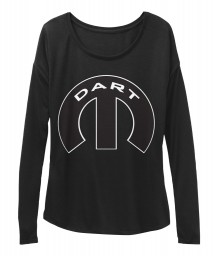 Dart Mopar M Black  Women's  Flowy Long Sleeve Tee $43.99