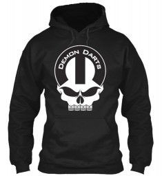 Demon Darts Mopar Skull Gildan 8oz Heavy Blend Hoodie