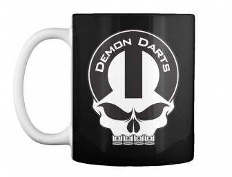 Demon Darts Mopar Skull Black Teespring Mug $14.99