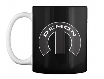 Demon Mopar M Black Teespring Mug $14.99