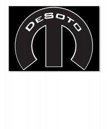 Desoto Mopar M Sticker