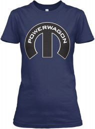 Dodge Power Wagon Mopar M Gildan Women's Relaxed Tee