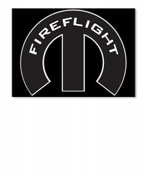 Fireflight Mopar M Landscape Sticker $6.00