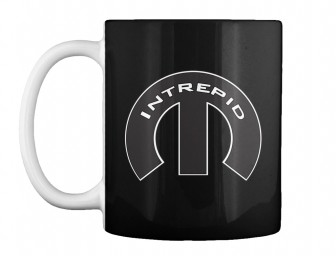Intrepid Mopar M Black Teespring Mug $14.99