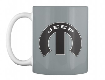 Jeep Mopar M Md Grey Teespring Mug $14.99