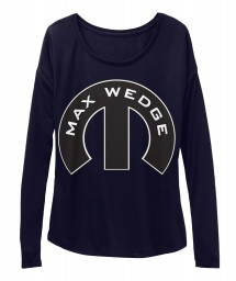 Max Wedge Mopar M Midnight  Women's  Flowy Long Sleeve Tee $43.99