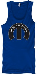 Mopar Girl Mopar M True Royal BELLA+CANVAS Unisex Tank $22.99