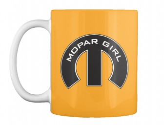 Mopar Girl Mopar M Athletic Gold Teespring Mug $14.99