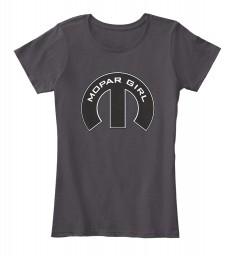 Mopar Girl Mopar M Heathered Charcoal Women's Premium Tee $22.99