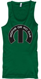 Mopar Or No Car M Kelly  Unisex Tank $22.99