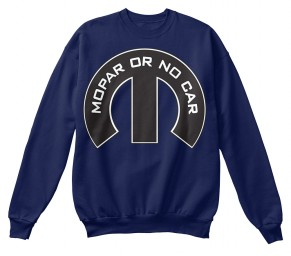 Mopar Or No Car M Navy Hanes Unisex Crewneck Sweatshirt $33.99