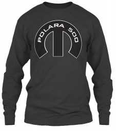 Polara 500 Mopar M Dark Heather Gildan 6.1oz Long Sleeve Tee $25.99