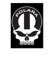 Polara Mopar Skull Portrait Sticker $6.00