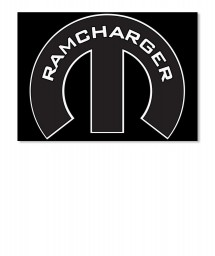 Ramcharger Mopar M Sticker