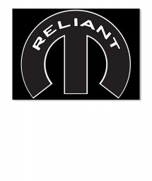 Reliant Mopar M Landscape Sticker $6.00