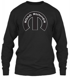 Road Runner Mopar M Black Gildan 6.1oz Long Sleeve Tee $25.99