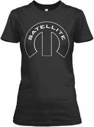 Satellite Mopar M Black Gildan Women's Relaxed Tee $21.99