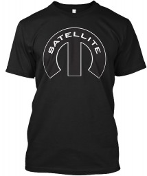 Satellite Mopar M Black Hanes Tagless Tee $21.99