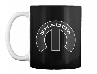 Shadow Mopar M Black Teespring Mug $14.99