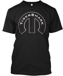 TigerShark Mopar M Black Hanes Tagless Tee $21.99