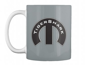 TigerShark Mopar M Md Grey Teespring Mug $14.99